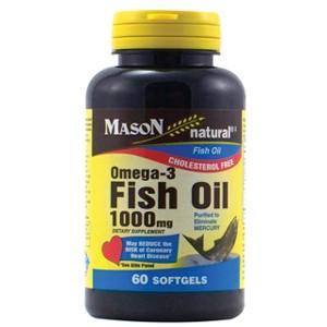 FISH OIL 1000MG OMEGA-3 SOFTGELS