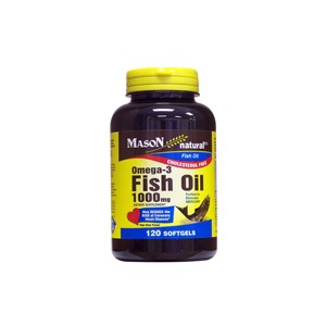 FISH OIL 1000MG OMEGA-3 SOFTGELS