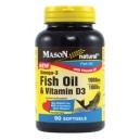 FISH OIL 1000MG OMEGA-3 AND VITAMIN D3 1000IU SOFTGELS