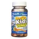 HEALTHY KIDS COD LIVER OIL WITH VITAMIN D CHEWABLE TABLETS (orange flavor)