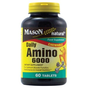DAILY AMINO 6000 CHEWABLE TABLETS