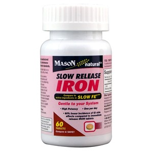 SLOW RELEASE IRON  TABLETS