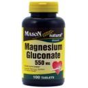 MAGNESIUM GLUCONATE 550MG TABLETS