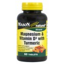 MAGNESIUM & VITAMIN D WITH TURMERIC TABLETS