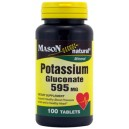 POTASSIUM GLUCONATE 595MG TABLETS