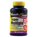 SUPER MULTIPLE 34 VITAMINS & MINERALS,  IRON FREE CAPSULES