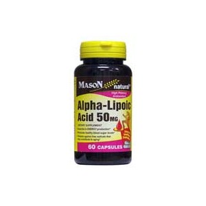 ALPHA LIPOIC ACID 50MG CAPSULES
