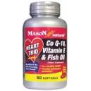 HEART TRIO: CO Q-10, VITAMIN E & FISH OIL SOFTGELS