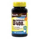 D 400IU CHEWABLE (vanilla flavor)