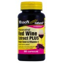 RED WINE EXTRACT PLUS GRAPE SEED AND VITAMIN C CAPSULES