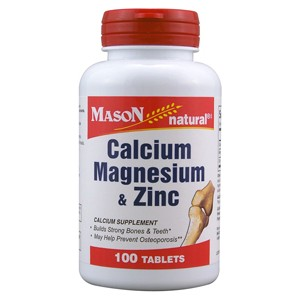 CALCIUM MAGNESIUM & ZINC TABLETS