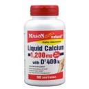 LIQUID CALCIUM 1200 WITH VITAMIN D SOFTGELS