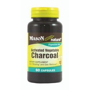 ACTIVATED VEGETABLE CHARCOAL CAPSULES