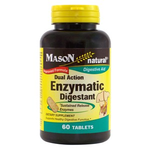 DUAL ACTION ENZYMATIC DIGESTANT TABLETS