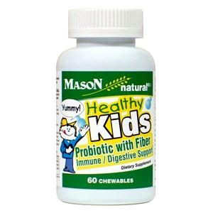 HEALTHY KIDS PROBIOTIC W/FIBER CHEWABLES