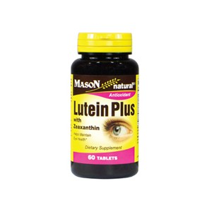LUTEIN PLUS WITH ZEAXANTHIN TABLETS