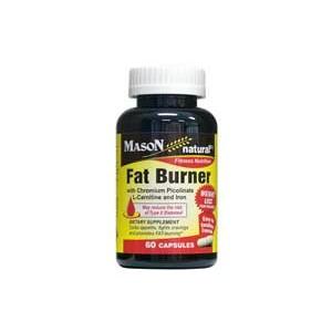 FAT BURNER WITH CHROMIUM PICOLINATE, L-CANITINE, AND IRON CAPSULES
