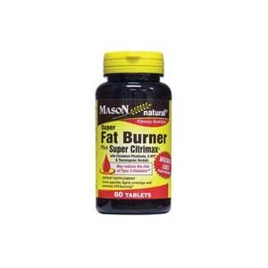 SUPER FAT BURNER PLUS SUPER CITRIMAX® WITH CHROMIUM PICOLINATE, 5HTP & THERMOGENIC HERBALS TABLETS