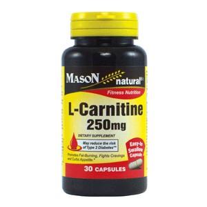 L-CARNITINE 250MG  CAPSULES
